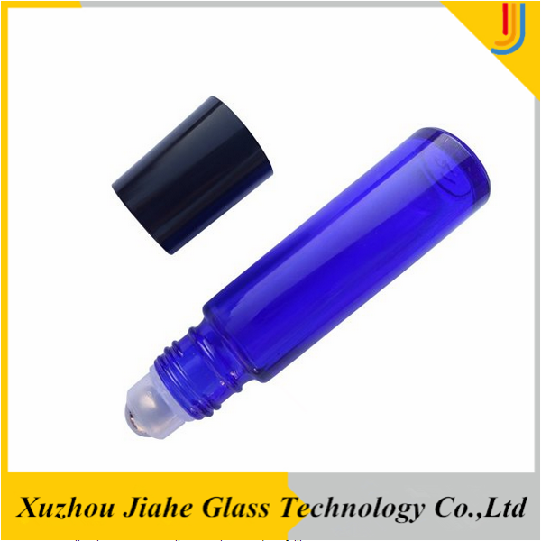Personal Care Industrial Use and Glass Material 10ml blue glass roll on bottle