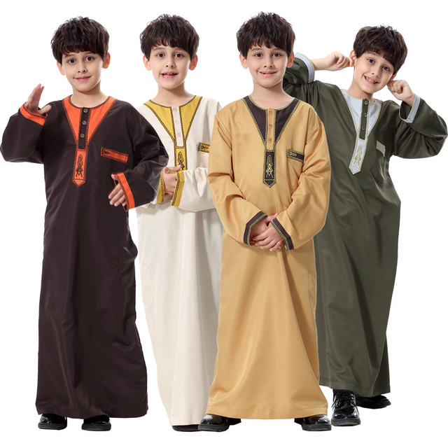 Buy cheap china children clothing middle east products find china x62786a islamic clothing children muslim arab middle east teenage boy robe sciox Images
