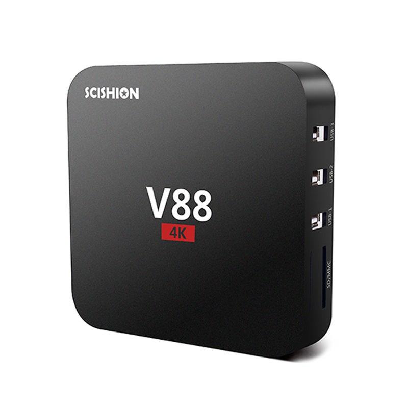 Porno alta calidad Full HD 1080P Android TV Box 422 Alta Definición Sexo Pron V88 Android TV-2504