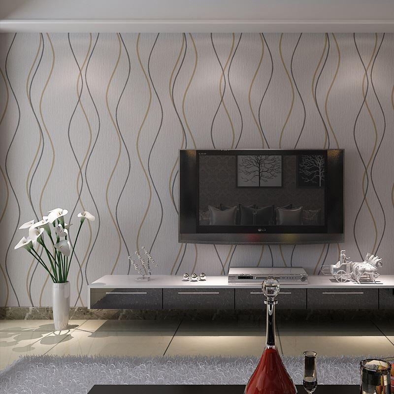 Moderne woonkamer ideeen eurocol houtlook tegels leggen for Woonkamer behang voorbeelden