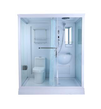 Ajl 5801 Hot Sale Prefab Modular Bathroom With Toilet For