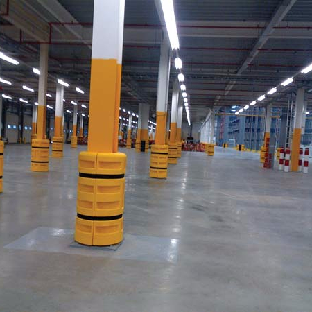 CE wholesale customized 1M post protector column protector road barrier pole barrier
