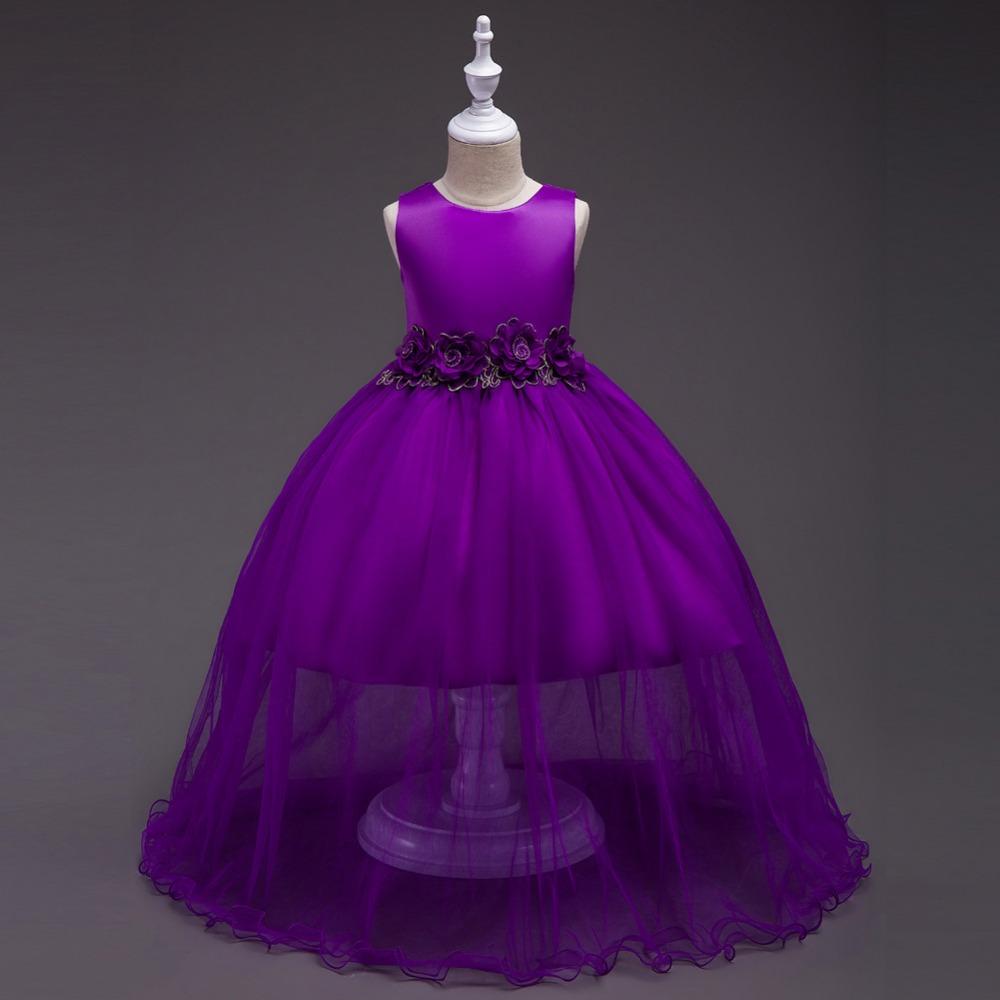 Venta al por mayor ropa niñas vestidos elegantes-Compre online los ...