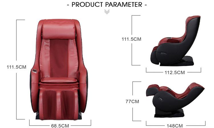 RK1900A COMTEK en popüler L parça mini masaj koltuğu