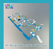 XIXI BRINQUEDOS de Alta Qualidade Grandes Infláveis Da Água do Parque, Parque Aquático jogos de Verão