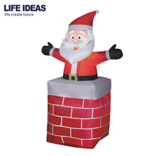 6ft /180cm Outdoor Lighted Christmas Inflatable -Pop up Santa