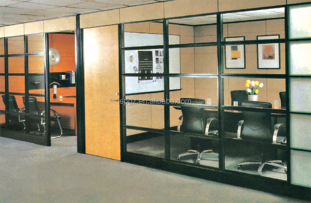 New design modern office partition glass soundproof office for Modern office partition design