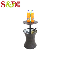 wholesale large outdoor used plastic portable ice beer cooler box table