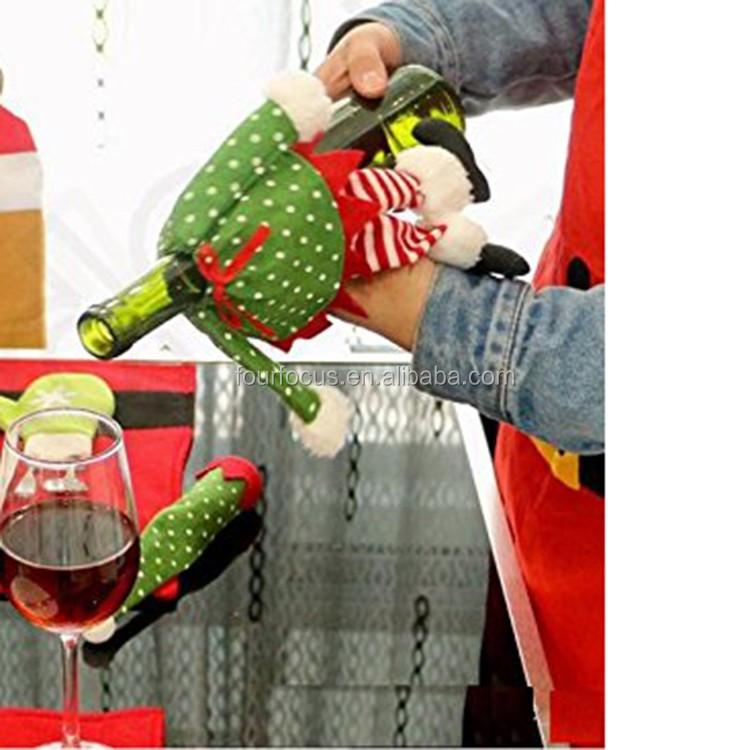 Decoración Festival Promocional Cubre Knit Suéter Feo Vino Cerveza ...
