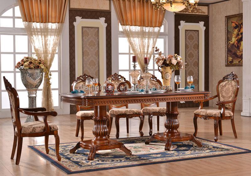 Moderna mesa de comedor de madera y sillas para comedor - Mesas y sillas para comedor modernas ...