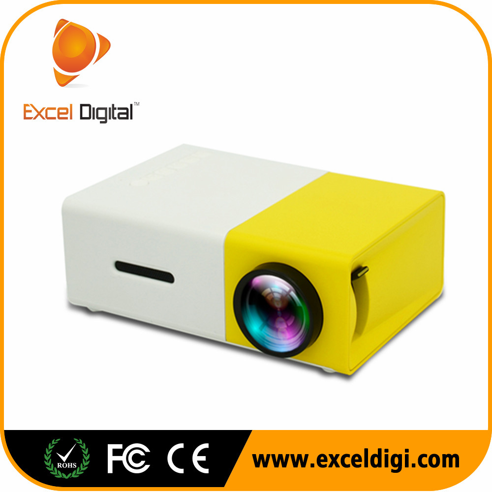 Excel Digital Yg300 2017 Best Selling Video Play Hdmi Led Mini Portable Pocket <strong>Projector</strong> Yg300