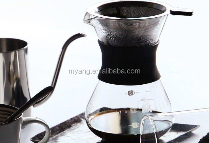 borosilicate glass coffee pot