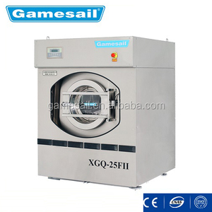 Gamesail front loading XGQ-25FII 25kg industrial washing machine for hospital cloth