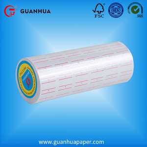 China manufacturer 20*30mm blank paper roll adhesive labels price tag rolls