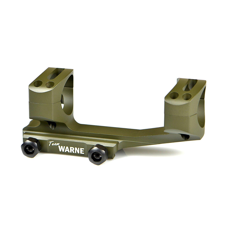 Warne Scope Mounts 30mm Generation 2 Mount Fits AR Rifles, OD Green