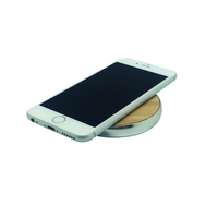 ZOGI Easy Charge Wood Give Away Gift QI Wireless Mobile Charge Pad