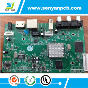 Top quality custom color tv ic manufacturer,mainboard supply,nice circuit board+components
