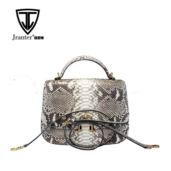 Wholesale Luxury Fashion Genuine Python Snakeskin Leather Handbags