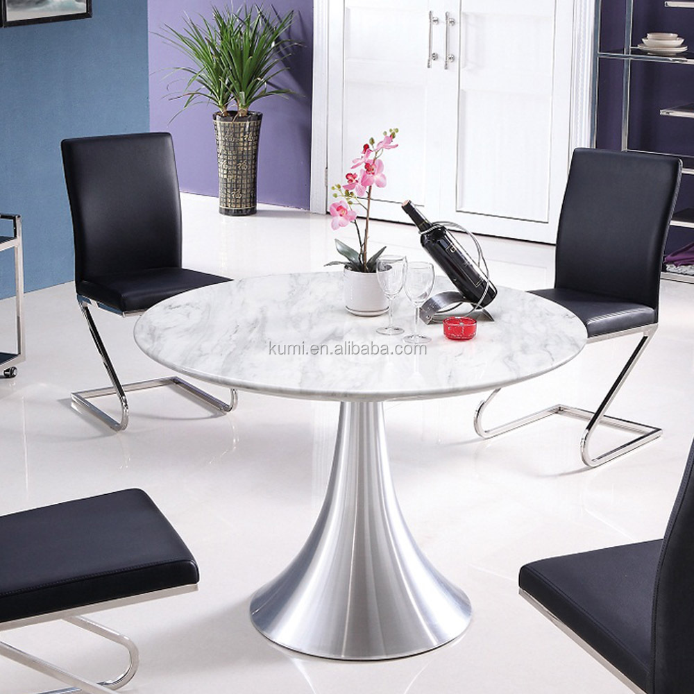 Marble Top Round Kitchen Table marble top dining table sets, marble top dining table sets