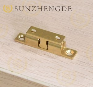 High quality Different Size Brass Ball elbow catch Door Closer Cabinet Door Catches