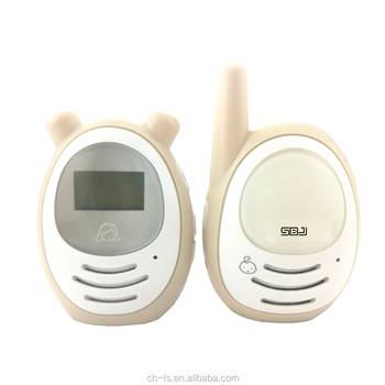 wireless long range baby audio monitor digital lcd sleeping monitor secure baby phone