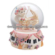 Elegant Angel Valentine's Snow Globe With Music