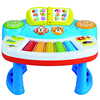 Hot sell multi-function baby learning toys game table with music&light