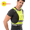 Factory supply fluorescent walking safety reflective vest for sale