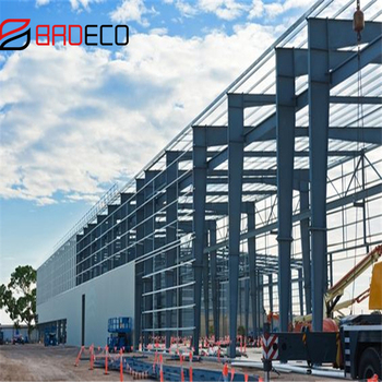 Pre engineering high rise prefabricated steel structure