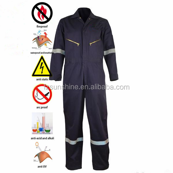 Waterproof 100 Cotton Work Clothing for men
