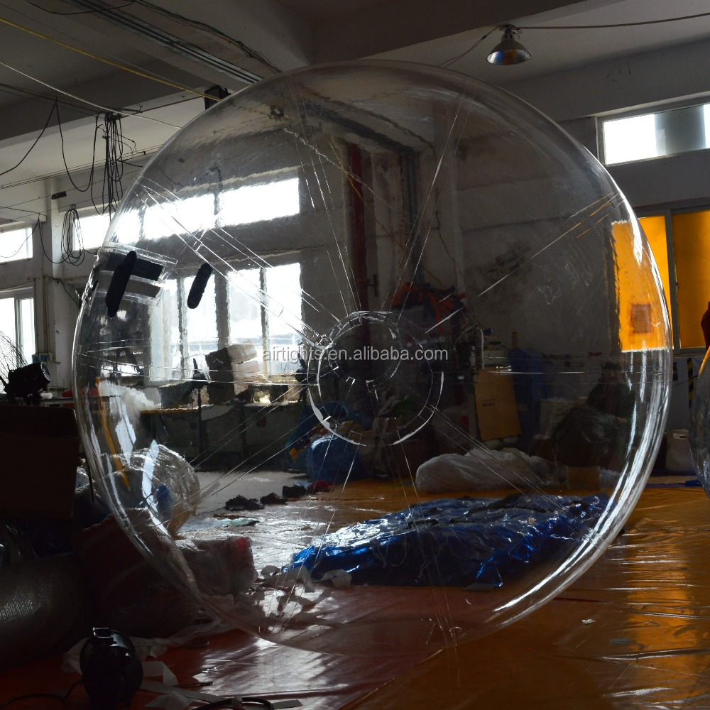 absorbing show balls Inflatables/Bubble ride/lowest factory price waterballs