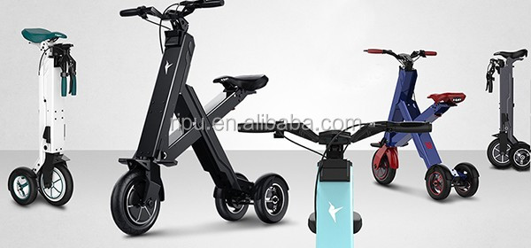 Three Wheel Folding Electric Mobility Scooter Light Weight