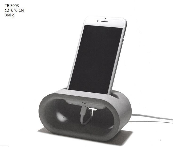 Cement Concrete Mobile Phone Holder Desk Cell Stand
