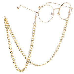 Fashion Women Gold Hanging Sunglasses Chains Slip Rope Glasses Accessories