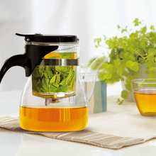SAMADOYO High Quality Heat-resisting Transparent Glass Teapot with Filter Factory