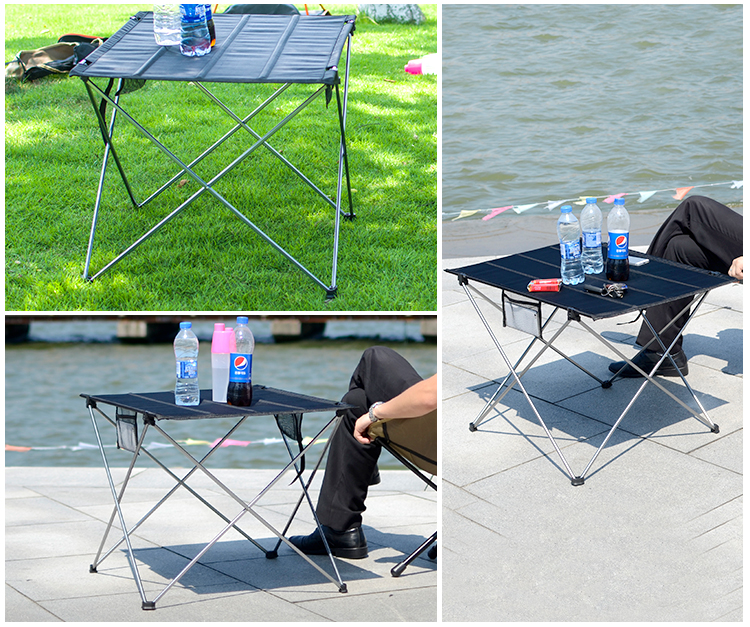 Outdoor Trave Supplies Aluminum <strong>Folding</strong> Table and chair set