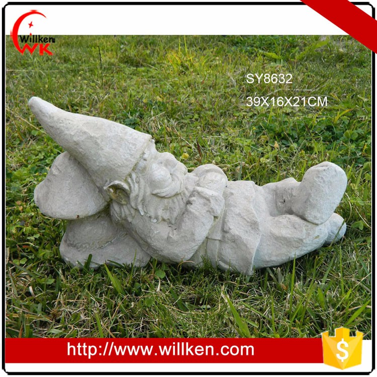 Handicraft outdoor garden decoration dwarf statue