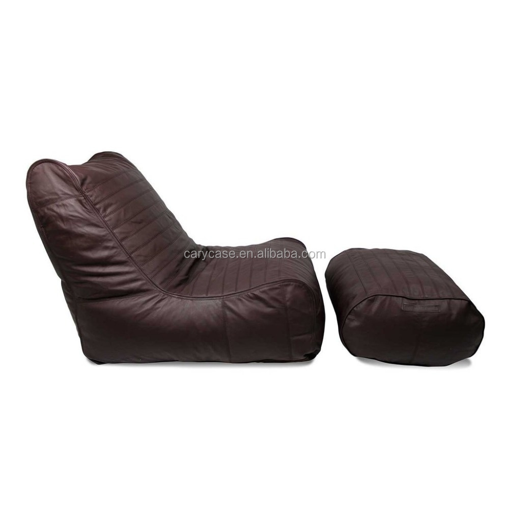 Peachy Interior And Out Brown Bean Bag Chair Pu Leather Beanbag Lounge Set Buy Leather Sofa Sets Genuine Leather Italian Shoes And Bag Sets Leather Pabps2019 Chair Design Images Pabps2019Com