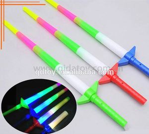 Event and party supplier expandable led lighting sword led flashing sword