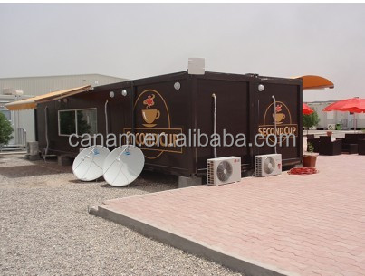 CANAM-Prefab coffe bar container kit homes for sale usa