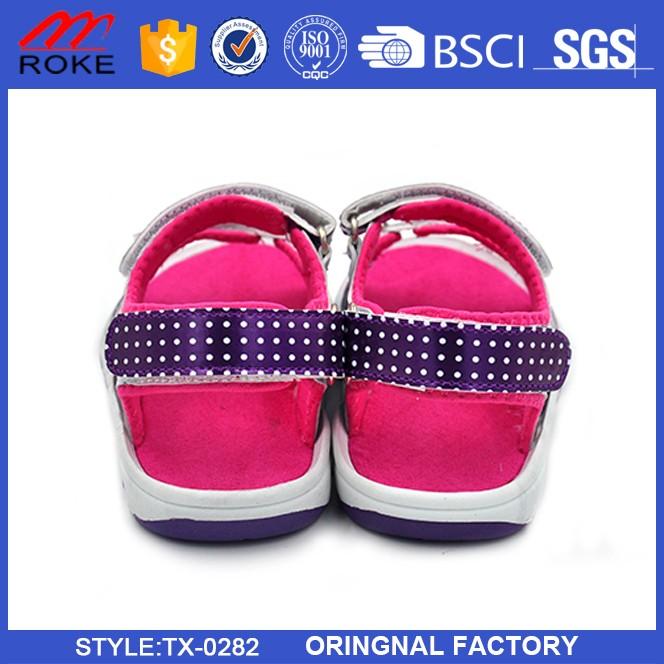 Latest Factory Summer Kids Sandals Comfortable Children PU Mesh Sandals