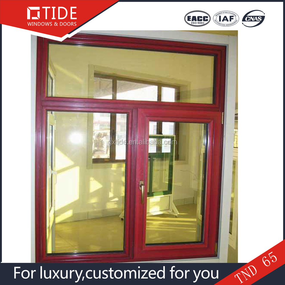 solid wood windowaluminum and wood window frame for sale for commercial building and villa - Window Frames For Sale