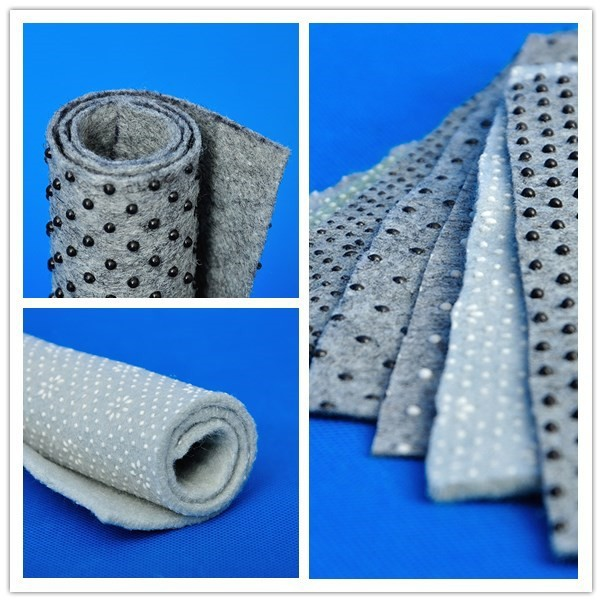 Point Plastic Prevent Slippery Polyester Needle Punched Nonwoven Carpet Backing