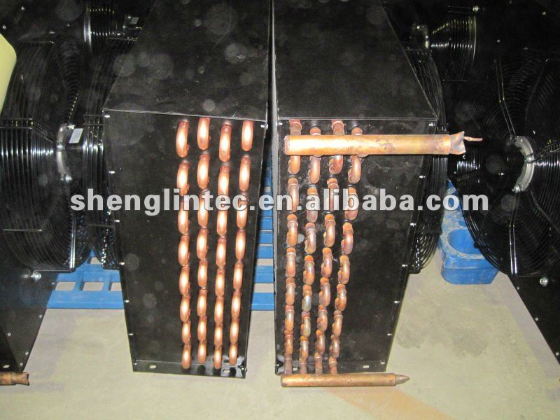 heat exchanger for fan coil