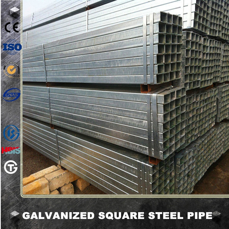 carbon steel profile galvanized square hollow section iron pipe