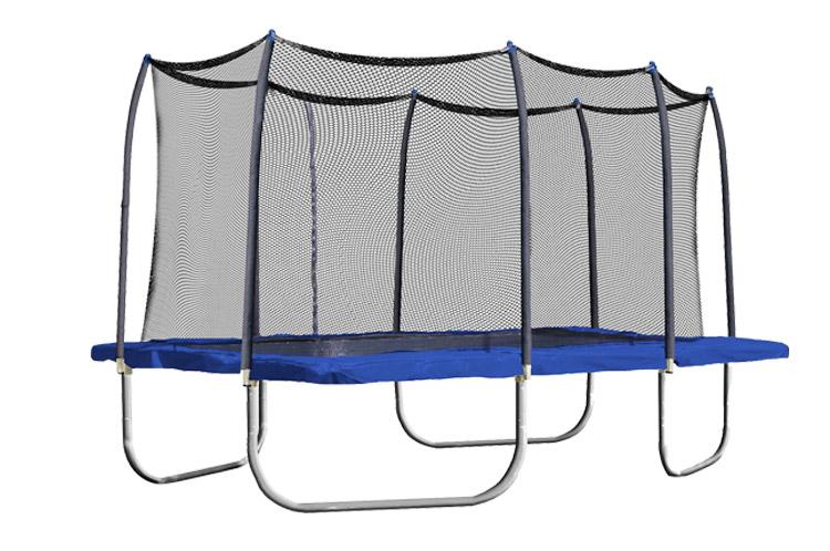 Sundowสี่เหลี่ยมผืนผ้าที่กำหนดเองTrampolineความปลอดภัยสุทธิ