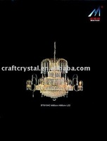 crystal chandelier chrome