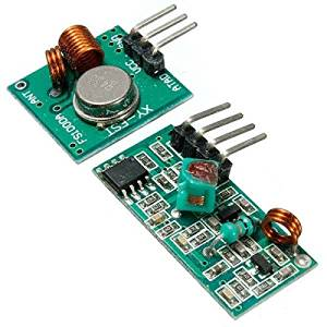 20Pcs 433Mhz RF Transmitter With Receiver Kit For Arduino MCU Wireless