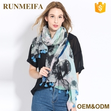 Fashion Wholesale China Digital Printed Muslim Women Hijab Scarf
