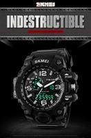 Skmei Digital Watch Instructions Manual 24 Hour Analog Clock Water ...